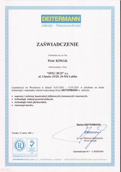 Certyfikaty/referencje