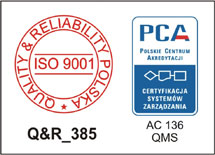 Spec-Bud - Certyfikat ISO